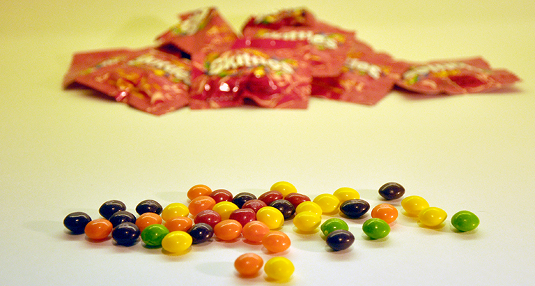 skittles - candy for architects