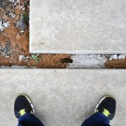 Modern Concrete Sidewalks – Floating Pads