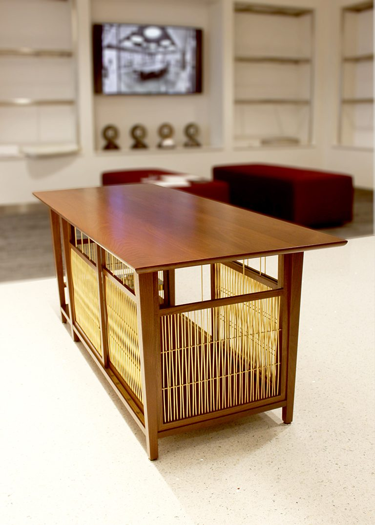 Barker Table - Rear view by Malone Maxwell Borson Architects (copyright)