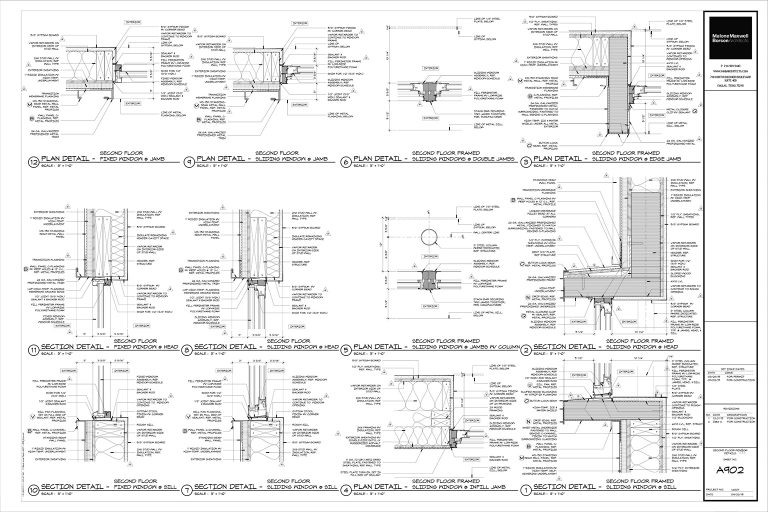 Architectural Graphics 101 - Detail Sheet layout