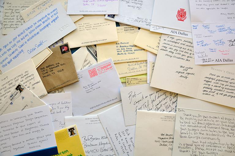 Letters to Bob Borson