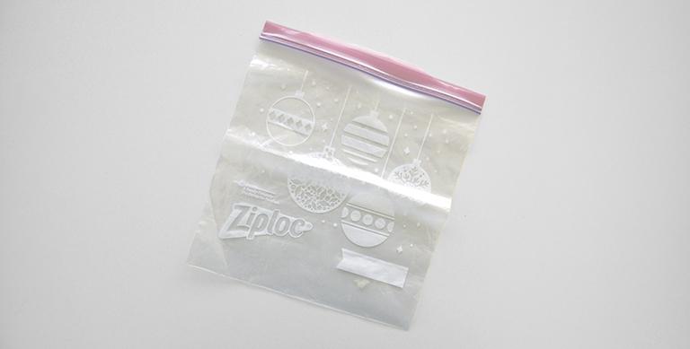 a ziplock bag