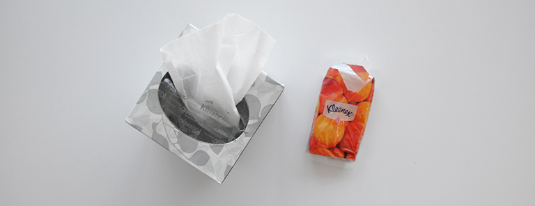 nose tissues