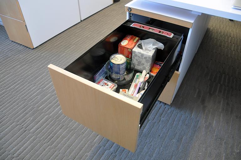 Bob Borson's office junk drawer