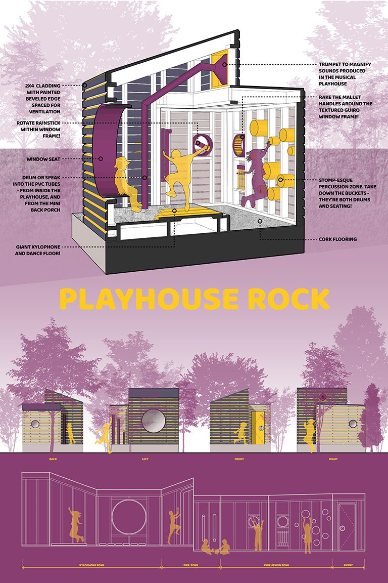 Amrita Raja and Katharine Storr 2017 Life of an Architect Playhouse Design Competition Winner