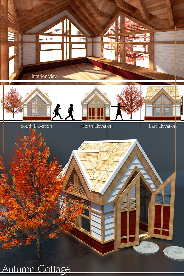 Christiaan Luijk -Autumn House 2017 Life of an Architect Playhouse Design Competition Winner
