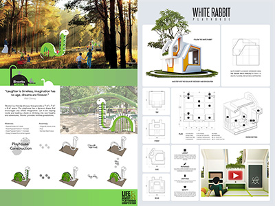 Honorable Mention LoaA 2017 Playhouse Design Competition