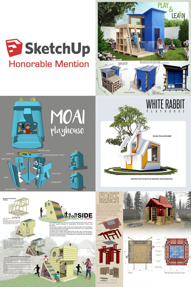 SketchUp 2017 Honorable Mentions