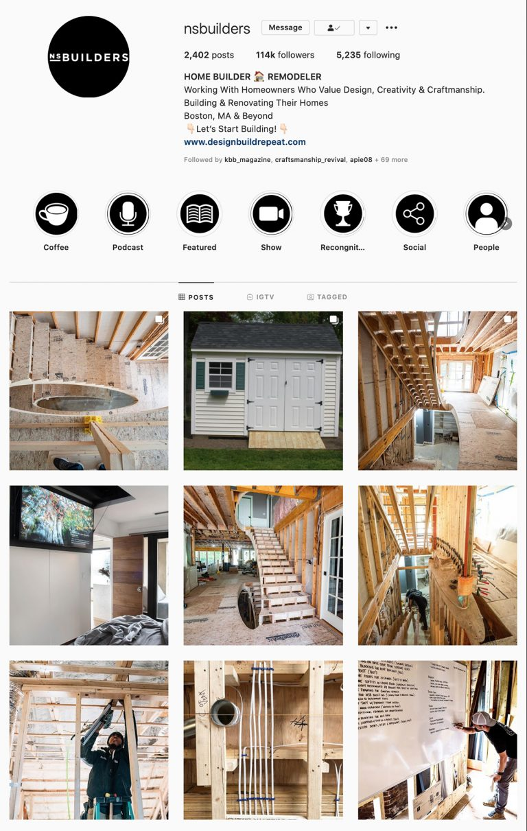 The Best Instagram Accounts to Follow for Construction